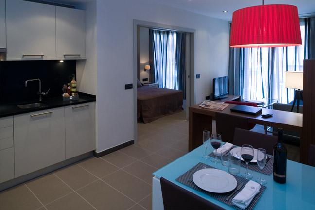 Apartamento totalmente equipado en el centro de Sarrià